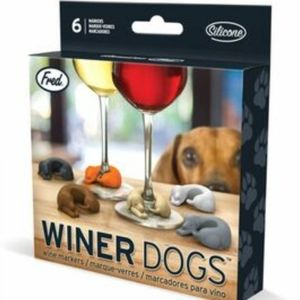 NIB WINER DOGS WINE MARKERS